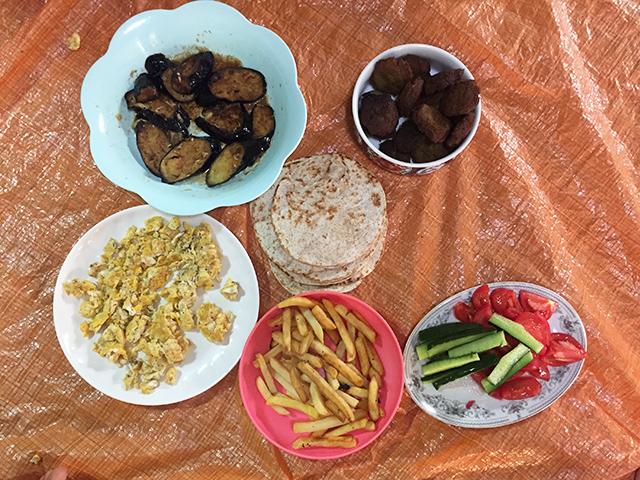 Egyptian breakfast